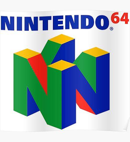Nintendo 64 Poster