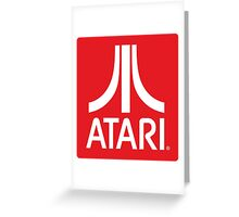 Atari Greeting Card