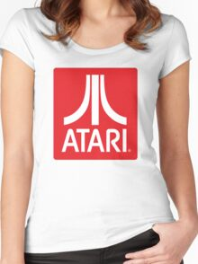 Atari Women's Fitted Scoop T-Shirt