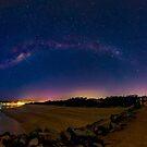 Milky Way over Noosa Heads by Sam Frysteen