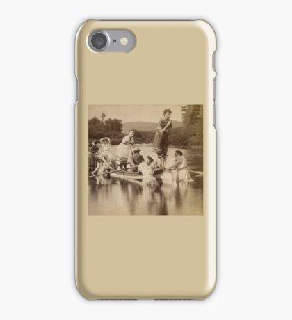 Swimming in Corsets iPhone Case/Skin