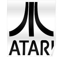 Atari Black Poster