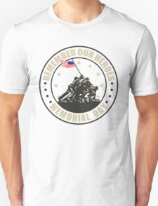 Remember Our Heroes - Memorial Day T-Shirt