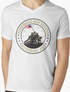 Remember Our Heroes - Memorial Day Mens V-Neck T-Shirt