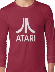 Atari White+Red Long Sleeve T-Shirt