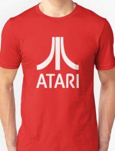 Atari White+Red Unisex T-Shirt