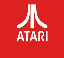 Atari White+Red Unisex T-Shirt