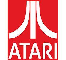Atari White+Red Photographic Print