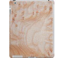 Unique eye maple wood design iPad Case/Skin