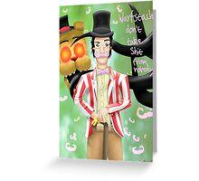 Wilfred Warfstache  Greeting Card