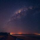 Milky Way over Noosa River Mouth by Sam Frysteen
