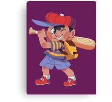 Ness Sticker Canvas Print