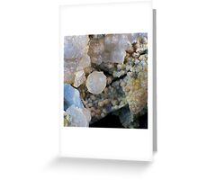 Grape and Fire Agate Greeting Card