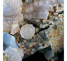 Grape and Fire Agate Photographic Print