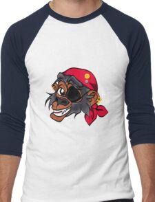 Monkey Pirate Men's Baseball ¾ T-Shirt