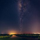Milky Way over Lake Weyba by Sam Frysteen