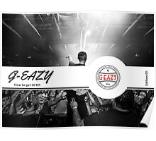 G-Eazy How to get Lit 101 Poster