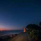 Noosa River Mouth at Night by Sam Frysteen