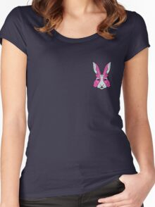 Rabbit 1 Women's Fitted Scoop T-Shirt
