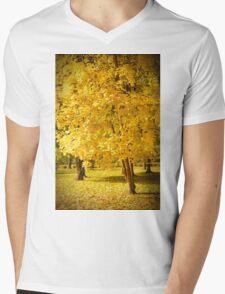 Golden tree Mens V-Neck T-Shirt