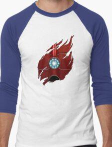 Red Body Armor Men's Baseball ¾ T-Shirt