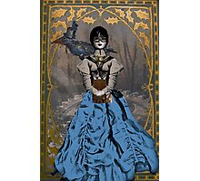 Steam Punk Raven Photographic Print