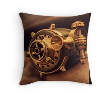 Steam punk pirate Throw Pillow