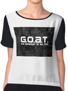 MJ Goat Chiffon Top