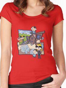 Esmeralda & the Boy Next Door Women's Fitted Scoop T-Shirt