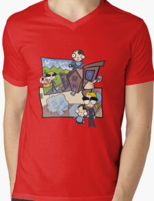 Esmeralda & the Boy Next Door Mens V-Neck T-Shirt