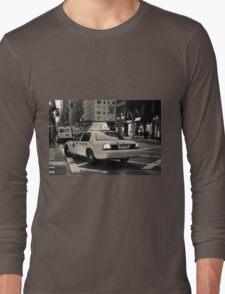 New York city taxi Long Sleeve T-Shirt