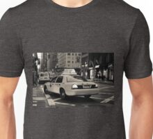 New York city taxi Unisex T-Shirt