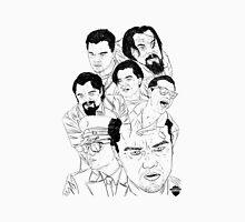 Leonardo DiCaprio Movie Montage Unisex T-Shirt