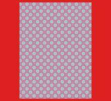 Polka Dot Pink Blue Pastel Pattern One Piece - Short Sleeve