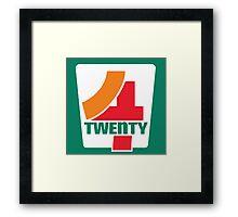 4-Twenty 7-Eleven Framed Print