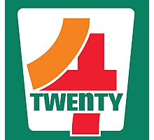 4-Twenty 7-Eleven Photographic Print