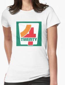 4-Twenty 7-Eleven Womens Fitted T-Shirt