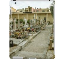 Very old cemetery iPad Case/Skin