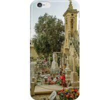 Cemetery in Malta iPhone Case/Skin