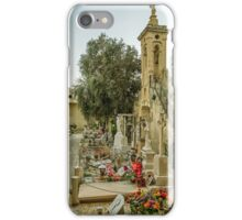 Cemetery in Malta iPhone Case/Skin
