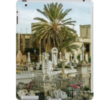 Palm in cemetery iPad Case/Skin