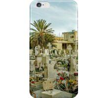 Old cemetery in Malta iPhone Case/Skin