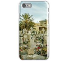 Old cemetery in Malta iPhone Case/Skin