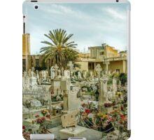 Old cemetery in Malta iPad Case/Skin