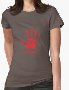 We Know - Dark Brotherhood Womens Fitted T-Shirt