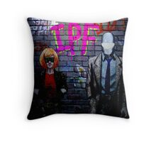 IPF back cover Throw Pillow