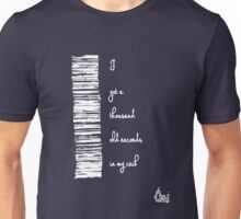 I've got a thousand old records...[wht] Unisex T-Shirt