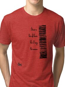 Know a lot of beats...[blk] Tri-blend T-Shirt