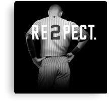 Re2pect - Baseball Canvas Print