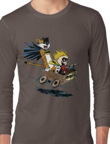 Calvin Hobbes Explore Long Sleeve T-Shirt